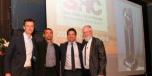 Kyotherm à Santiago du Chili pour recevoir le Solar Award 2019